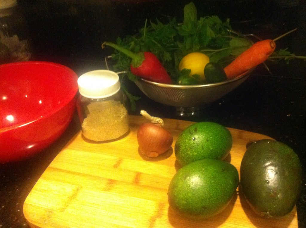 Avakado Salatası nasıl yapılır