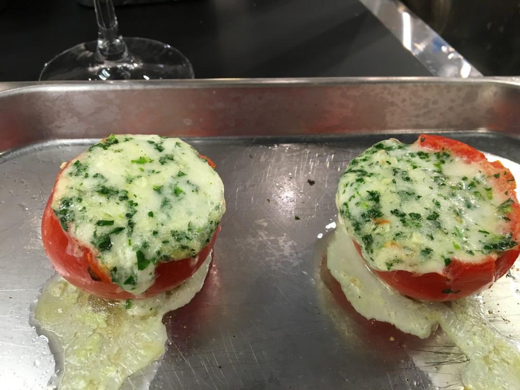 fırında domates tarifi