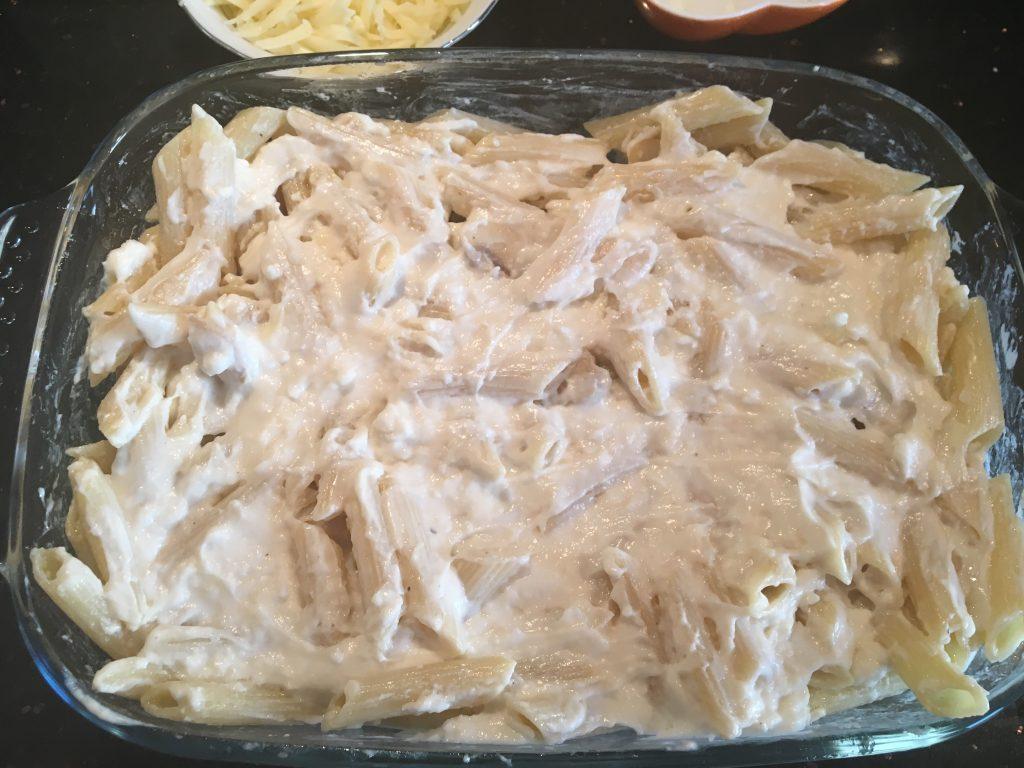 fırında beşemal soslu mantarlı makarna tarifi