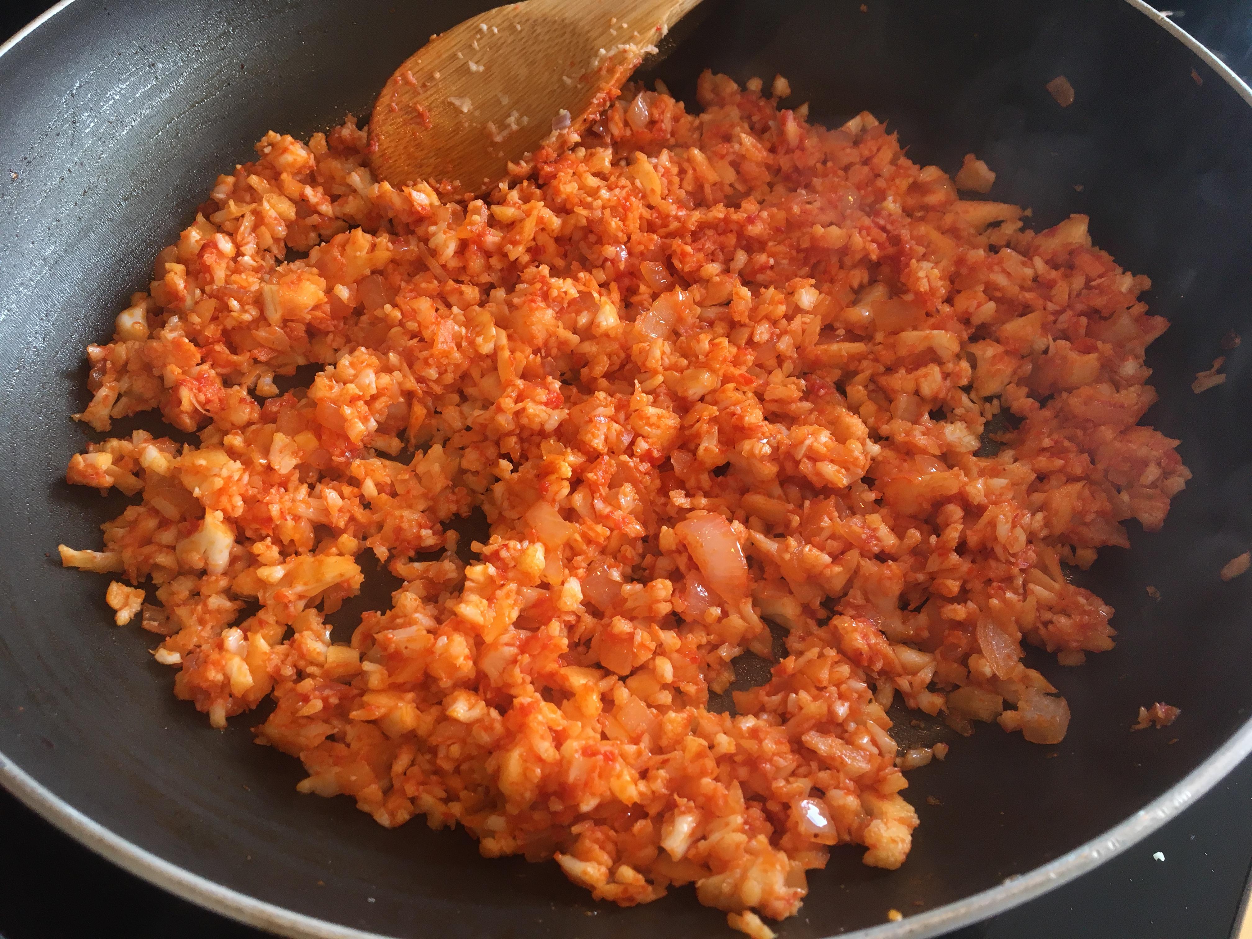 Karnabahar Püresi Salatası Tarifi