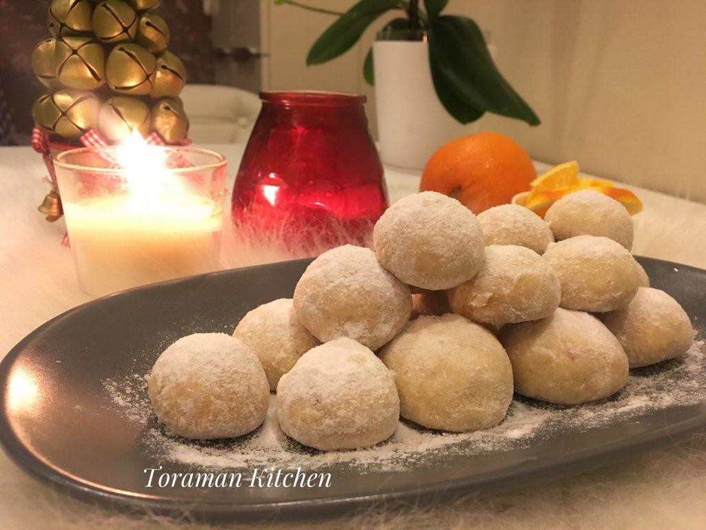 Portakallı Bademli Kurabiye Tarifi