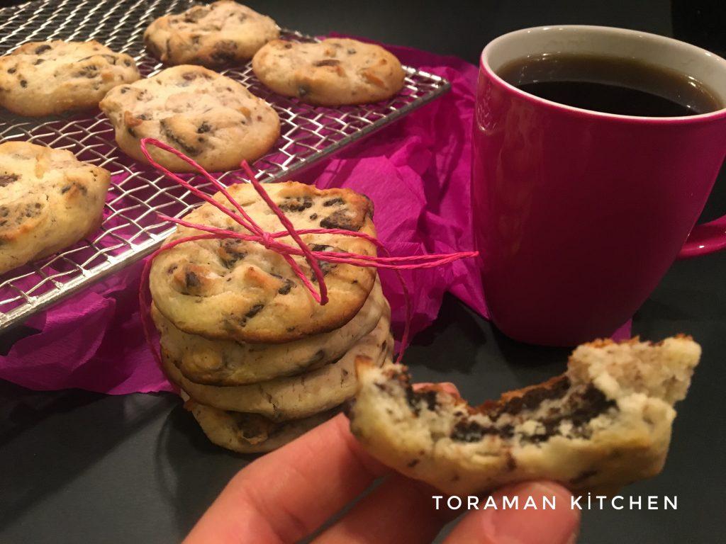 oreolu kurabiye tarifi